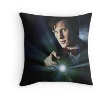 Doctor Who Matt Smith 11 Throw Pillow