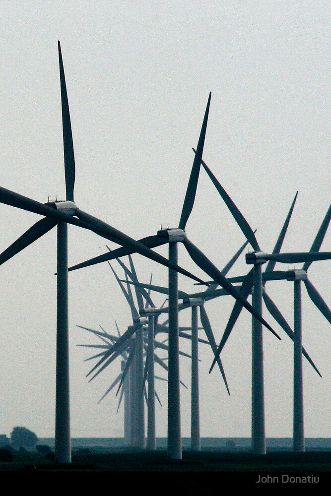 Wind Turbine Parade by John Donatiu