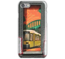 A Bus In The Window iPhone Case/Skin