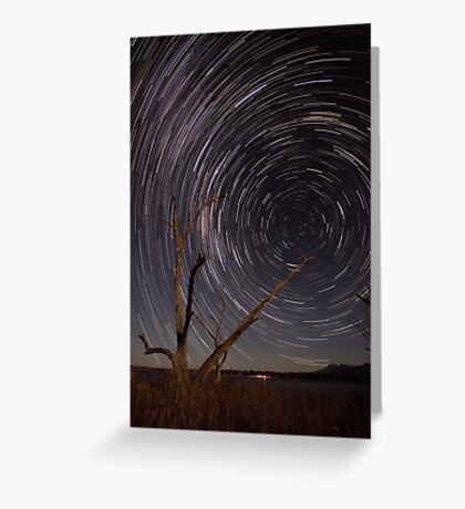 Path To The Wormhole Greeting Card
