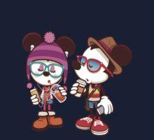 Mickey and Minnie Kids Tee