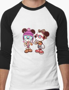 Mickey and Minnie Men's Baseball ¾ T-Shirt