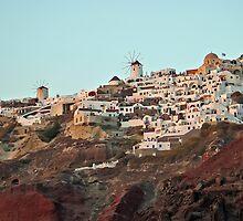 Magical Santorini by Teresa Zieba