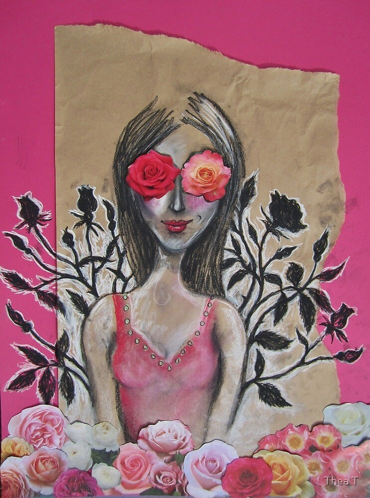 Her eyes were too big for her garden... by Thea T