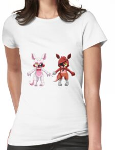 Five nights at Freddy's Team Fox Womens Fitted T-Shirt