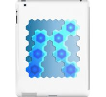 Abstract Hexagon Background 2 iPad Case/Skin