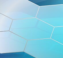 Abstract Hexagon Background 3 by gruml