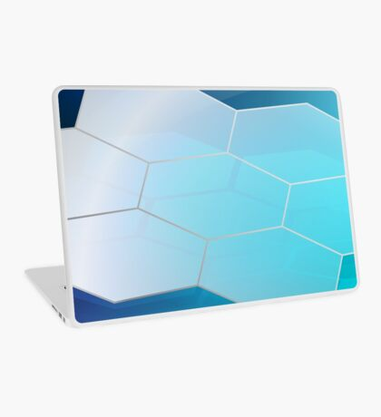 Abstract Hexagon Background 3 Laptop Skin