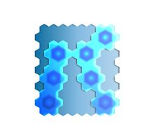 Abstract Hexagon Background 2 by gruml