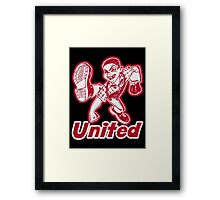 United Framed Print