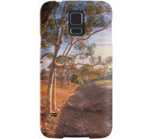 The Red Earth - Red Creek, South Australia Samsung Galaxy Case/Skin