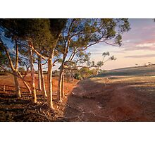 The Red Earth - Red Creek, South Australia Photographic Print