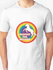 Respect the Unicorn Unisex T-Shirt