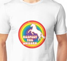 Respect the Unicorn Unisex T-Shirt