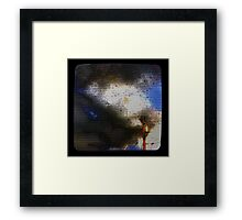 Screen Ttv Framed Print