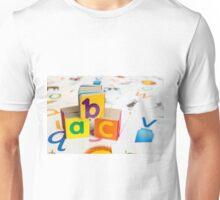 Alphabet Blocks Unisex T-Shirt