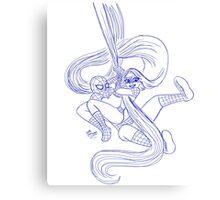 Spider-Man & Rapunzel Canvas Print