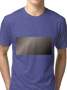 Abstract Rusty Grid Background Tri-blend T-Shirt