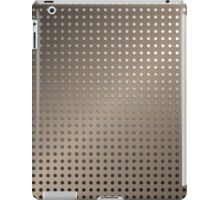 Abstract Rusty Grid Background iPad Case/Skin