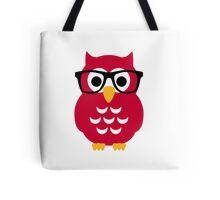 Geek nerd owl Tote Bag