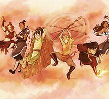 Team Avatar by Tiuana-Rui