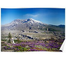 Mount St Helens Poster