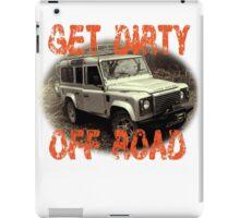 Get Dirty Off Road T-Hoodie iPad Case/Skin