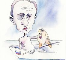Putin Shows His Muscles by Chava  Light