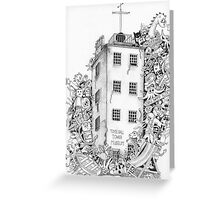 Timeball Tower Invasion Greeting Card