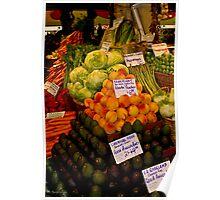 Gorgeous Organics Poster