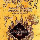 Marauder's map by ParkLeeya
