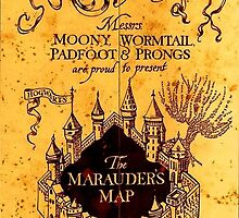 Marauder's map by ParkLeeya