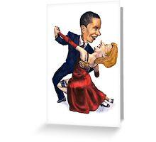 Tango Politico Greeting Card