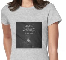 School of Courage Womens Fitted T-Shirt