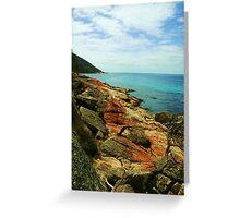Wine Glass Bay, Tasmania Greeting Card