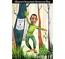 Obama's Economic Stimulus Plan Photographic Print
