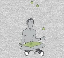 Juggling with four balls by Jenny -  DESIGN