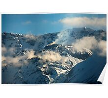 Mt St Helens Crater Poster