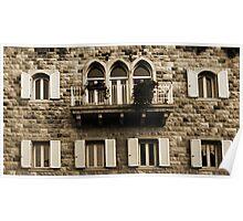 Lebanese Façade Poster