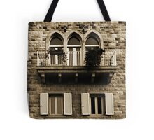 Lebanese Façade Tote Bag