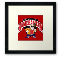 University of Kamehameha Framed Print