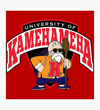 University of Kamehameha Photographic Print