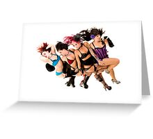 Foresquare Greeting Card