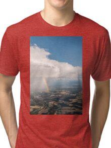 Clouds and rainbows 2 Tri-blend T-Shirt