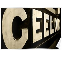 Geelong  Poster