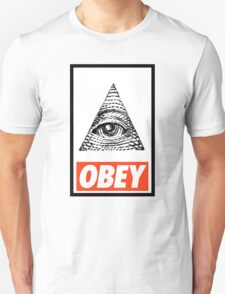 Obey the Illuminati Unisex T-Shirt