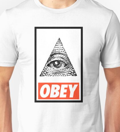 Obey the Illuminati Unisex T-Shirt