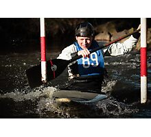 S&S Canoe Club | Div 3&4 Slalom | March 2015 | 029 Photographic Print