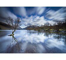 Llyn Padarn Lake, Llanberis, Snowdonia Photographic Print