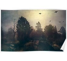 Home is where the fog is Poster